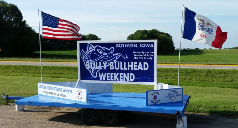 Bully Bullhead Float